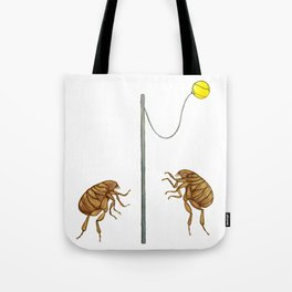 Teeny Tiny Tetherballers Tote Bag