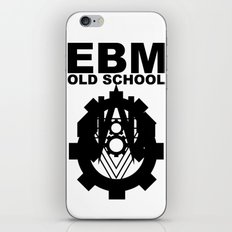 EBM OLD SCHOOL iPhone & iPod Skin