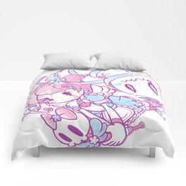 Magical Girl vs the Ghosties Comforters