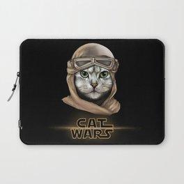 Cat Wars Rey Laptop Sleeve