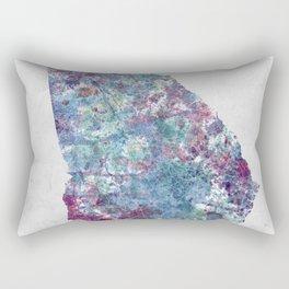 Georgia map Rectangular Pillow