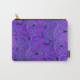 paisley paisley purple Carry-All Pouch