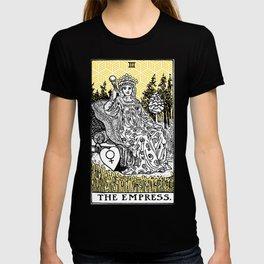 Geometric Tarot Print - The Empress T-shirt