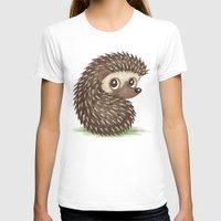 hedgehog T-shirts featuring Hedgehog by Toru Sanogawa