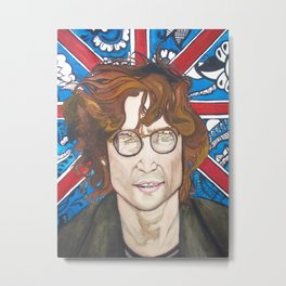 Lennon and India Metal Print