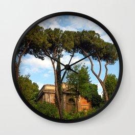 Church, Via Appia Wall Clock
