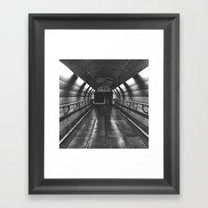 Underground: Waterloo (3) Framed Art Print