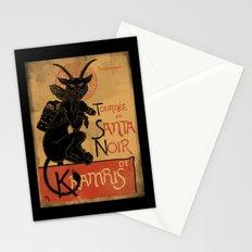 Merry Krampus Stationery Cards