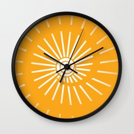 Sunshine 2 Wall Clock