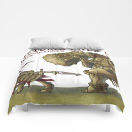 The Dragon Slayer and The Executioner, from Dark Souls Comforters