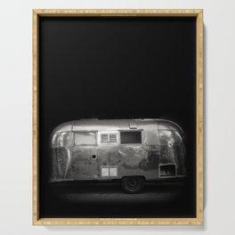 Vintage Airstream Camper Trailer Serving Tray