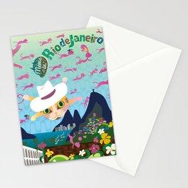Mews in Rio de Janeiro Stationery Cards