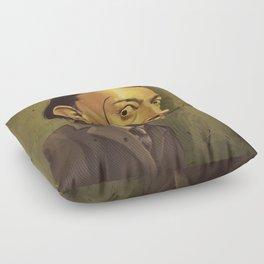 SALVADOR DALI ROYAL CARICATURE Floor Pillow