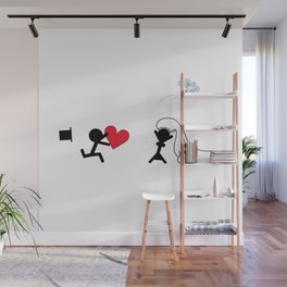 I marry you by Oliver Henggeler Wall Mural