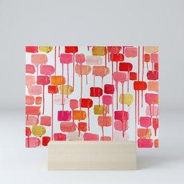 The Walls Are Melting Mini Art Print