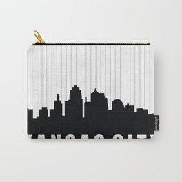 Kansas City Skyline Carry-All Pouch