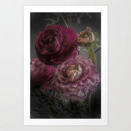 Ranunculus and Romance Art Print