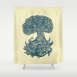 Yggdrasil Shower Curtain