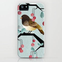 Bird, Watching iPhone Case