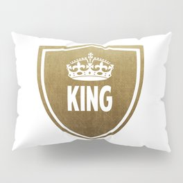 King & Queen (For Him & For Her) Pillow Sham