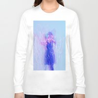the lights Long Sleeve T-shirts featuring Lights by Raego
