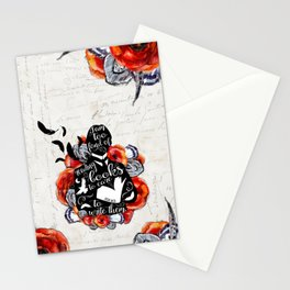 Picture of Dorian Grey - Too Fond of Reading Stationery Cards