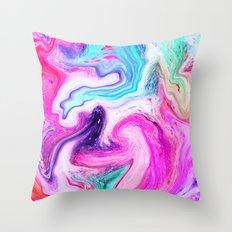 MARBLE 01 Throw Pillow