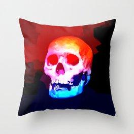 Skull02 Throw Pillow