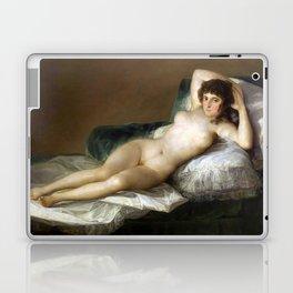 Maja Desnuda (The Nude Maja) by Francisco Goya Laptop & iPad Skin