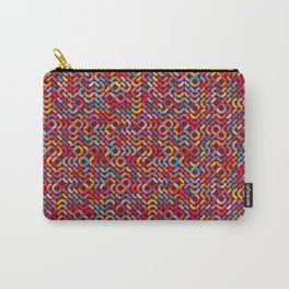 o pattern Carry-All Pouch