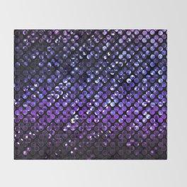 Crystal Bling Strass Purple G323 Throw Blanket