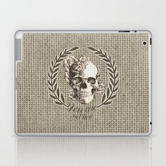 You are not here Laptop & iPad Skin