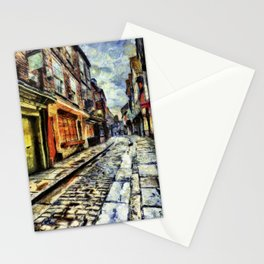 The Shambles York Van Gogh Stationery Cards