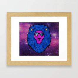 Cool Cat Space Framed Art Print