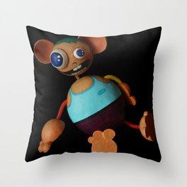 Nico Favolas Throw Pillow