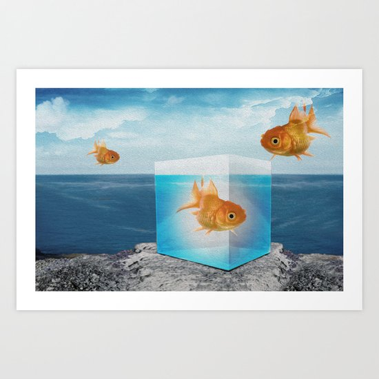 horatio by the sea Art Print