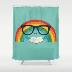 Brainbow Shower Curtain