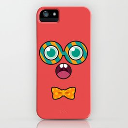 Monsticky Red iPhone Case