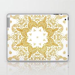 Golden mandala Laptop & iPad Skin