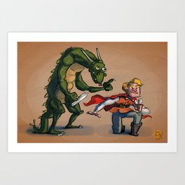 Quest for Glory Art Print