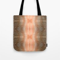 gray pattern Tote Bags featuring pink-gray pattern by giol's
