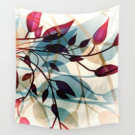 Flood of Leafs Wall Tapestry