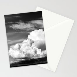 Tall cloud Stationery Cards
