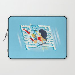 Fight like a girl Laptop Sleeve