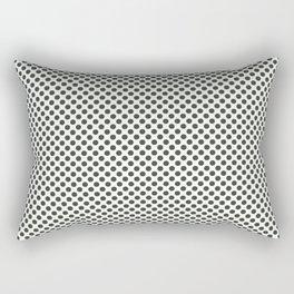 Duffel Bag Polka Dots Rectangular Pillow