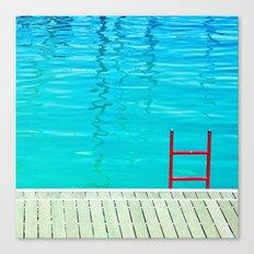 Red Ladder Canvas Print