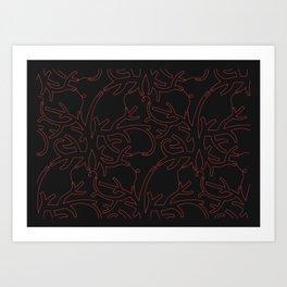 Gorgonia Art Print