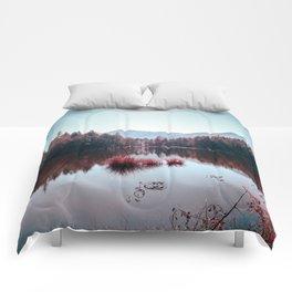 Winter Lake Comforters