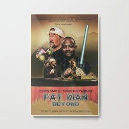 Fatman Beyond Thunderdome Metal Print