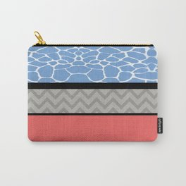 Confused Preppy Prints Carry-All Pouch